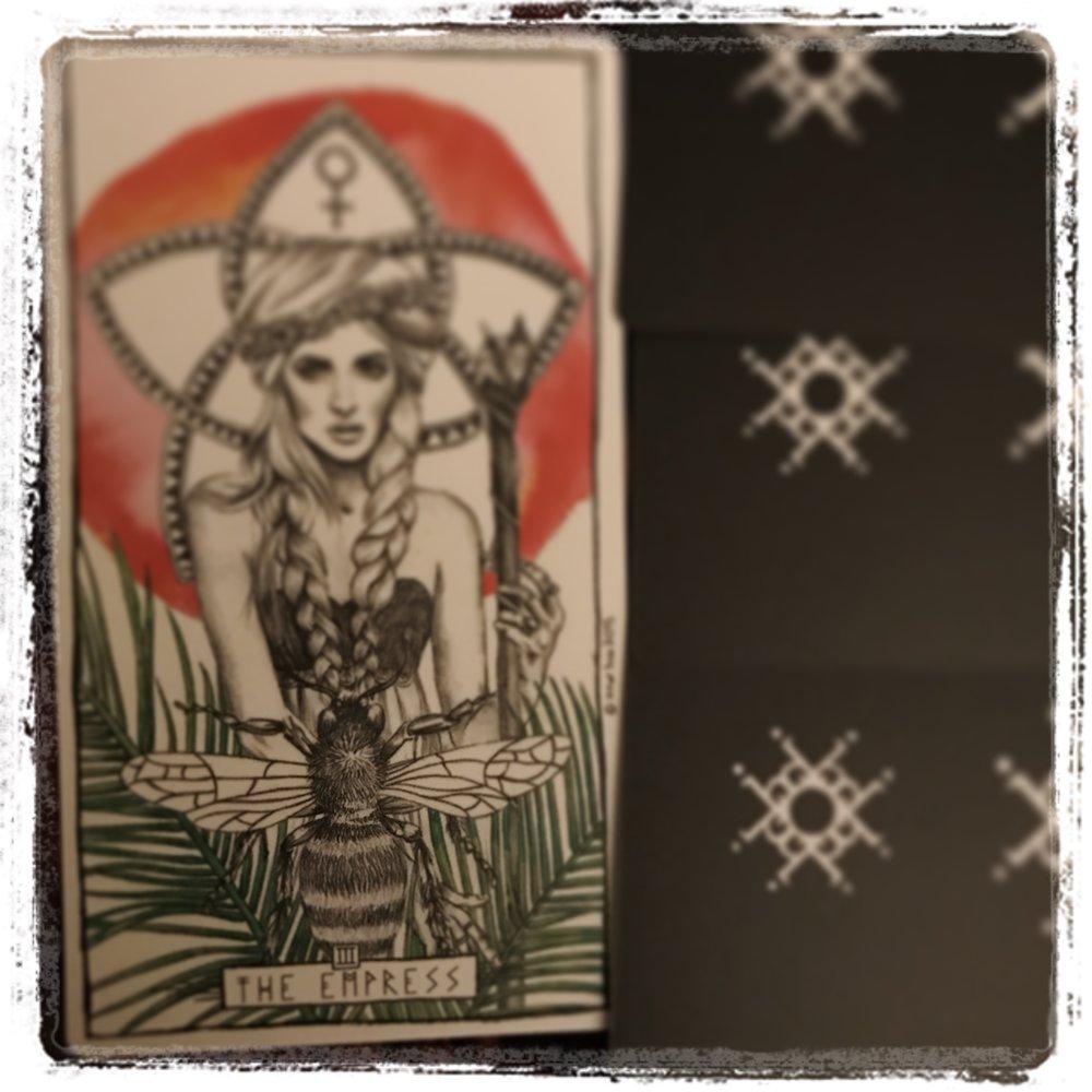 The Empress from The Lumina Tarot.
