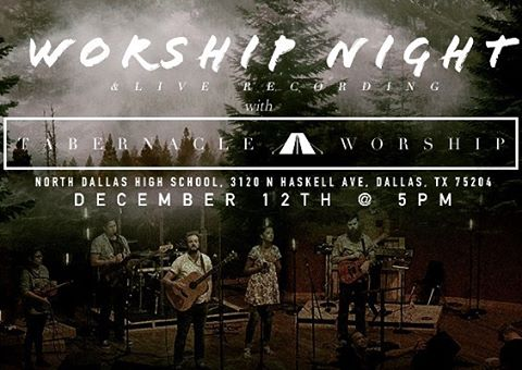 We're so excited for this!  Mark your calendars! #dallaschurch #thetabernacledallas #holidayworship #liverecording #merrychristmas