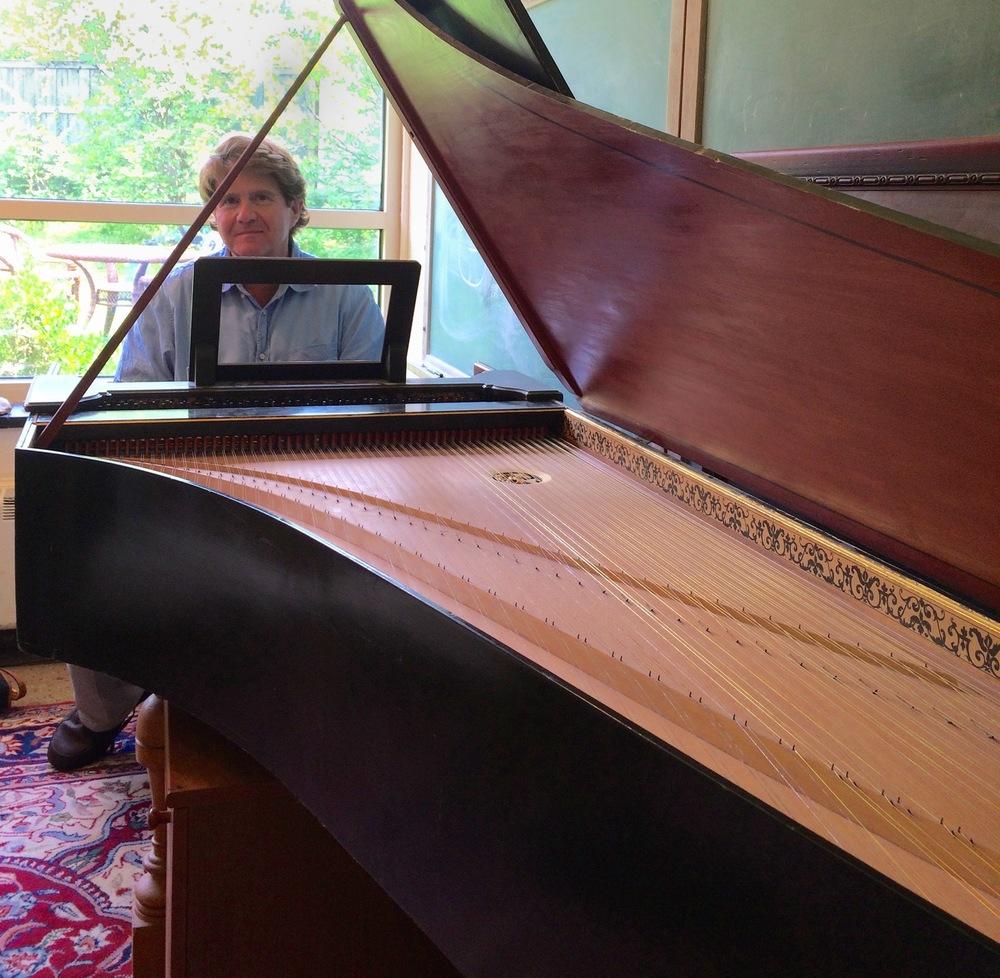 Tiger of the Week: Keyboardist Gavin Black '79