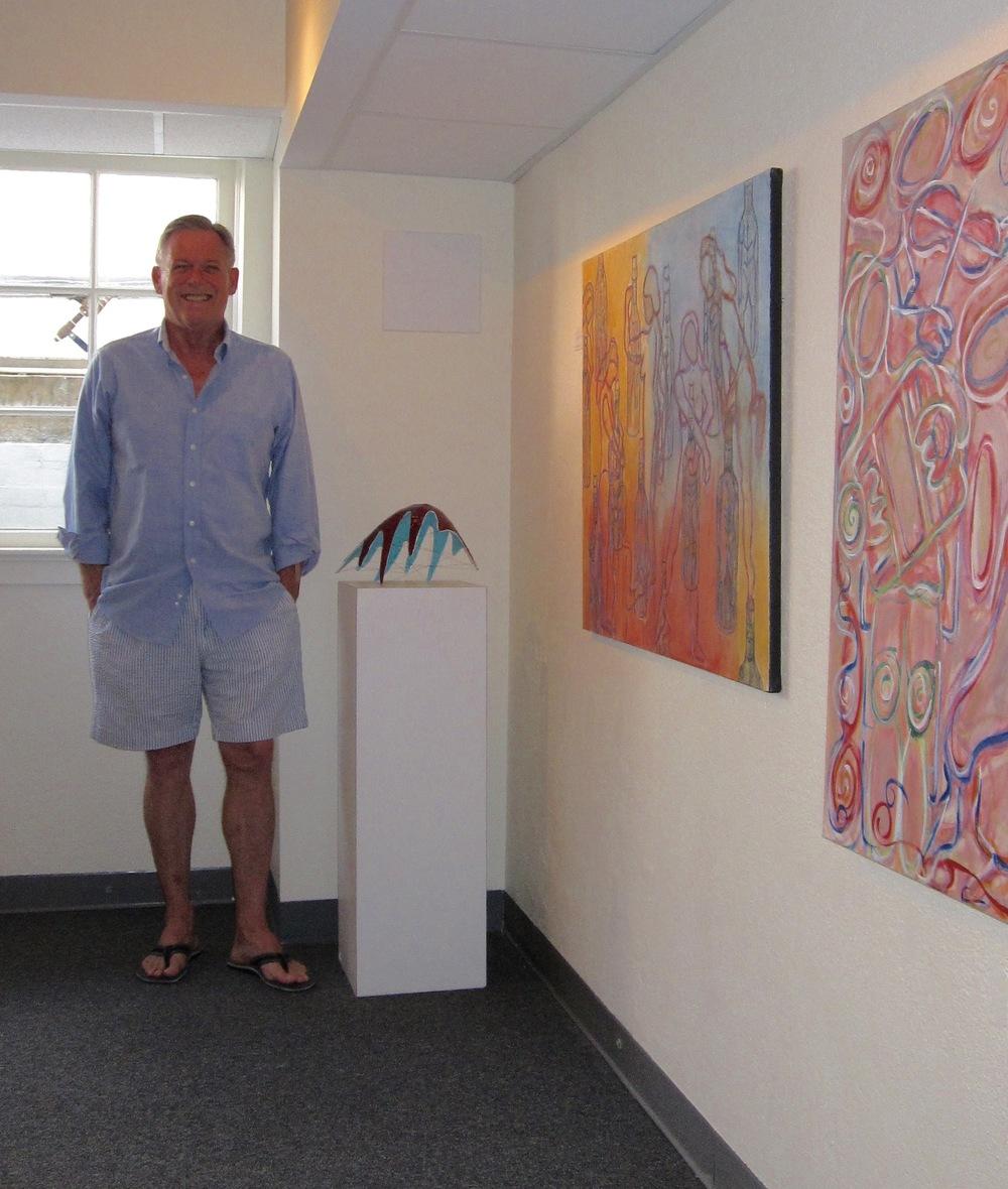 Tiger of the Week: Patrick Ryan '68, Gallery Director