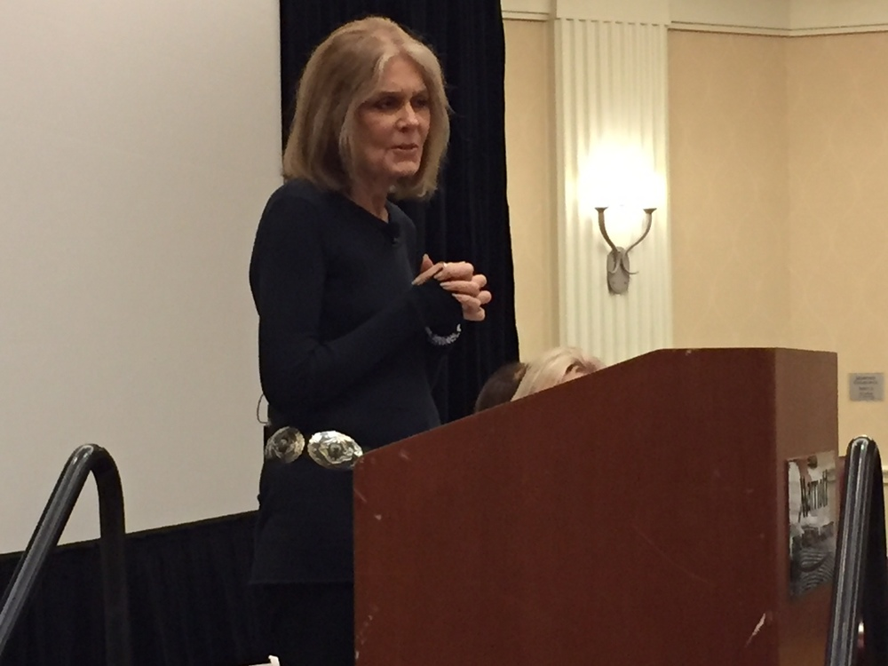 WHYY (NPR 90.9) | Gloria Steinem Delivers Keynote Address on Feminism, Eating Disorders | 11.19.2015