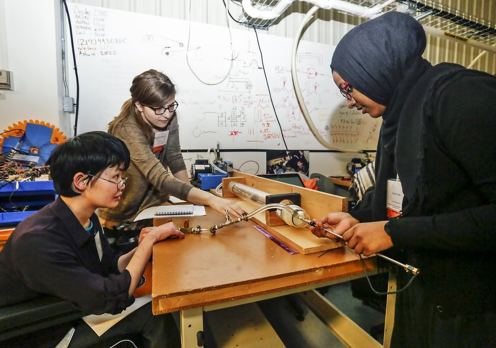 Rocket Scientists Calculate the 'Go Point' at Princeton's Undergraduate Women in Physics Conference