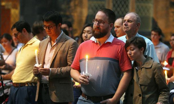 Campus Community Holds Vigil to Support Graduate Student Imprisoned in Iran