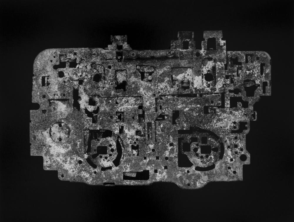 """Resurrected Form No.4, 10x13"""", Toned Silver Gelatin Print, 2014"""
