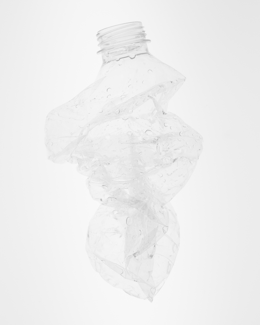 Bottle No.1, 30x24, Transparent Inkjet Print, 2014