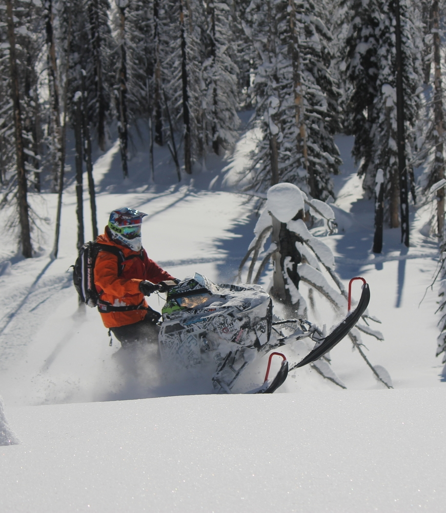 Snowmobile Rack