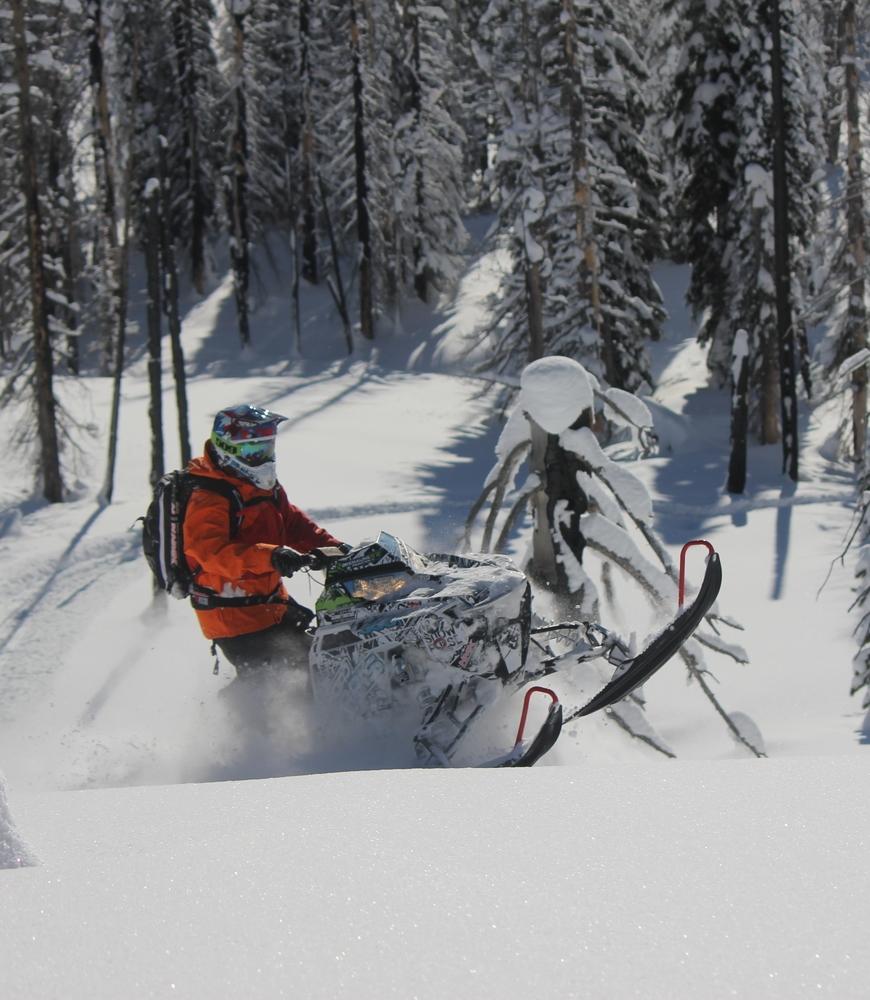 Snowmobile Rack