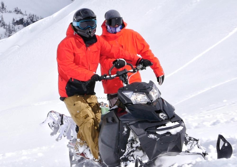 SkiDoo Snwomobile_Skidoo Linq Snowboard Rack_Polaris Snowboard Rack