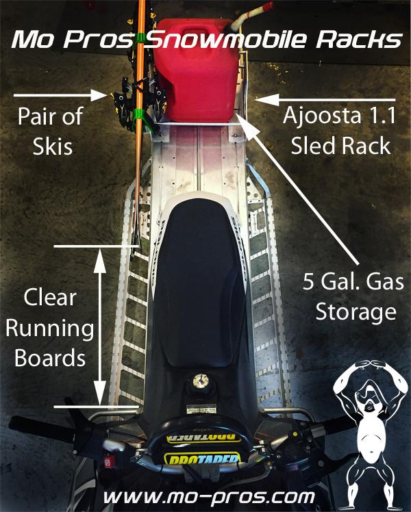 Mo Pros Snowmobile Rack_tsaina rack_backcountry united