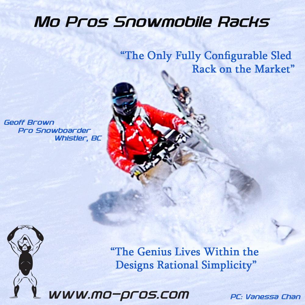 Ski-Doo Ski Rack_Skidoo Snowboard Rack_Polaris Snowboard Rack_Cheetah Factory Racing_Backcountry United