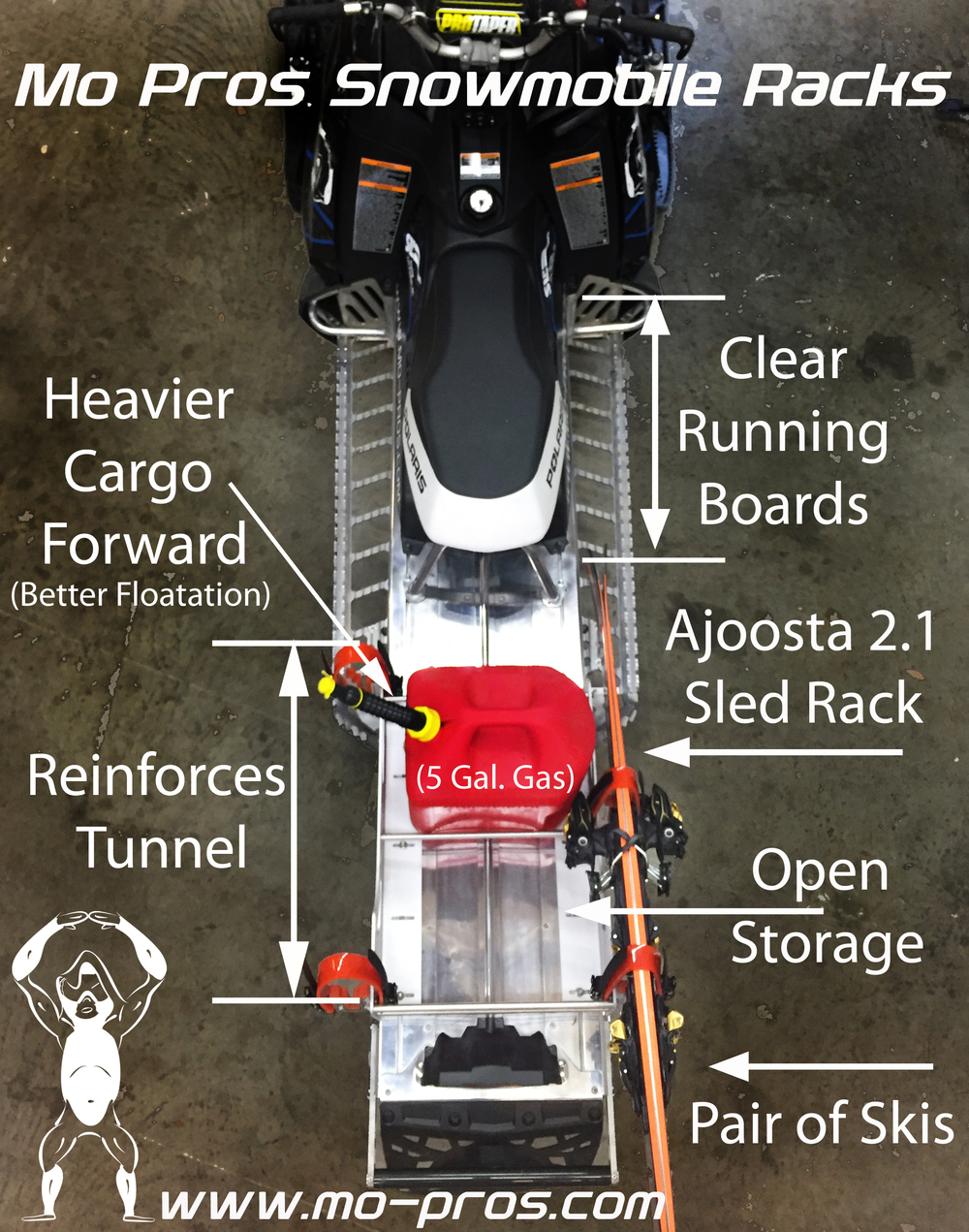 Mo Pros Snowmobile Rack