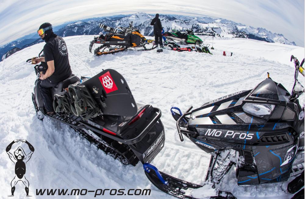 Snowmobile Ski Rack_Snowmobile Snowboard Rack