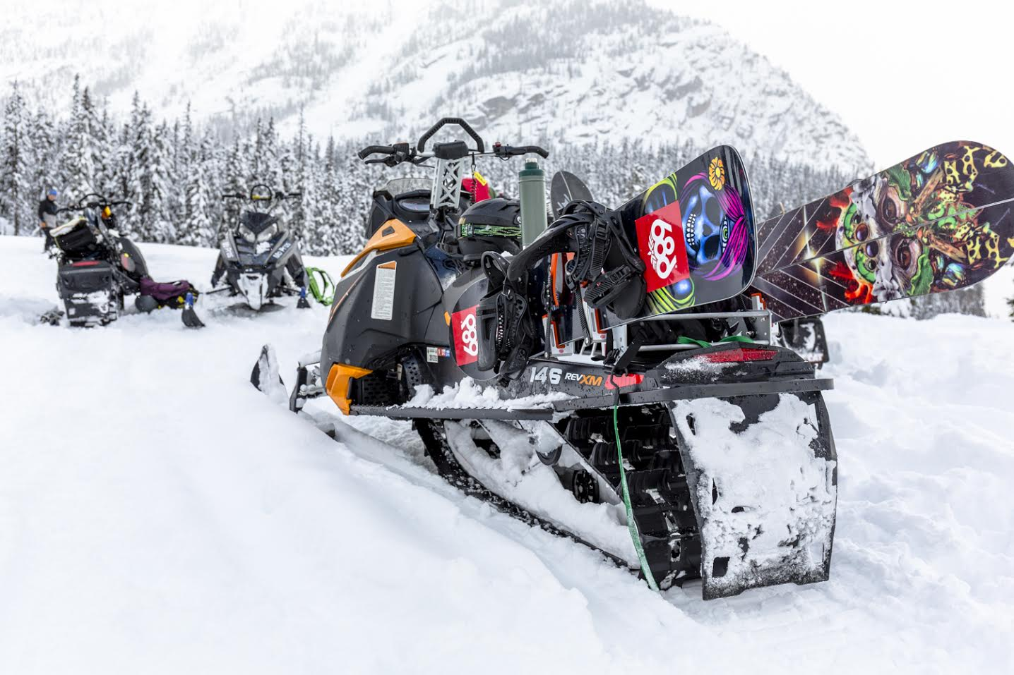 Image result for Consider Ski-doo Snowboard Rack