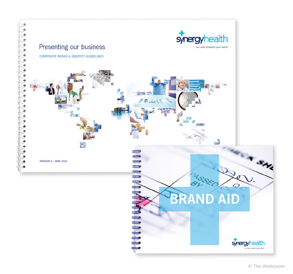 Updated version of main guidelines & 'Brand Aid' mini-guidelines