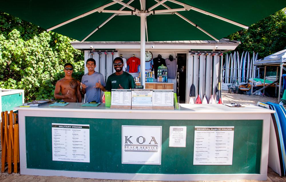 Koa Beach Service Waikiki