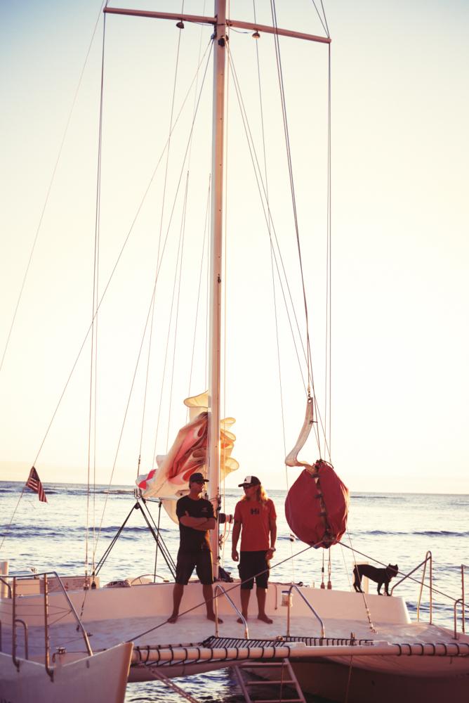 Sailing Waikiki Beach