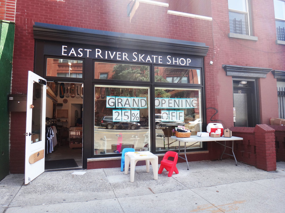 East River Skateshop Grand Opening, August 1st, 2015. Photo by Corinne Séguin.