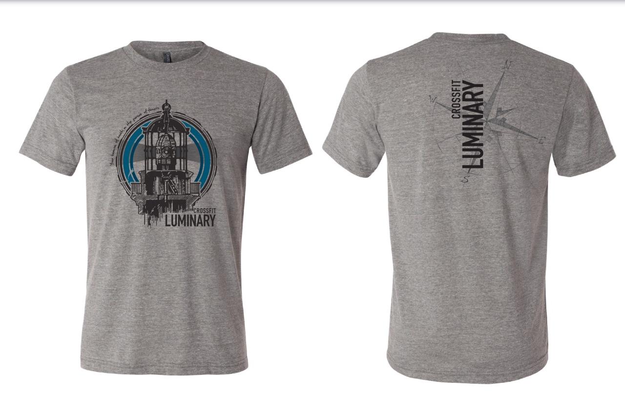 T-shirt design questionnaire - Crossfit Luminary T Shirt