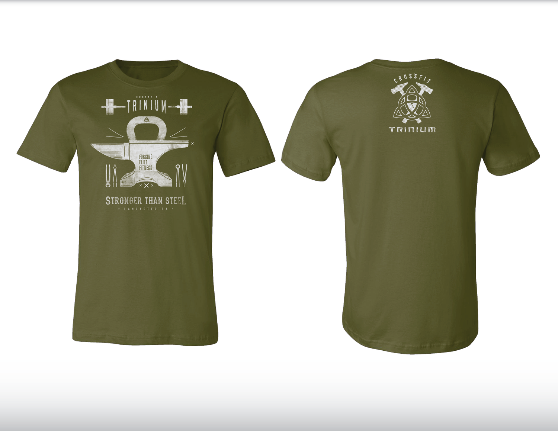 T-shirt design questionnaire - Crossfit Trinium T Shirt