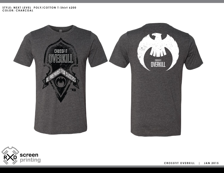 T-shirt design questionnaire - Crossfit Overkill
