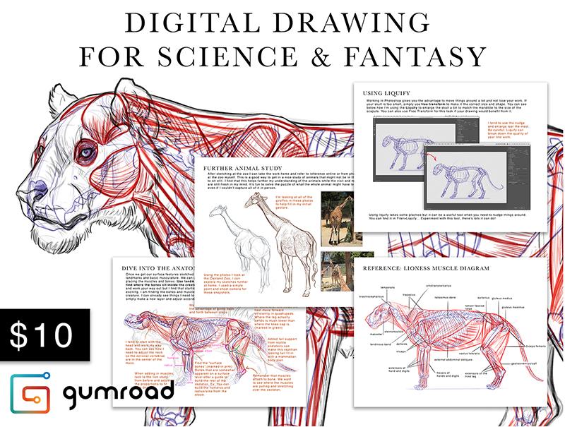 Digital Drawing for Science & Fantasy — BRYNN METHENEY