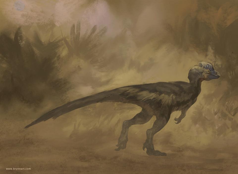 Dilophosaurus  Draw Dinovember, 2018