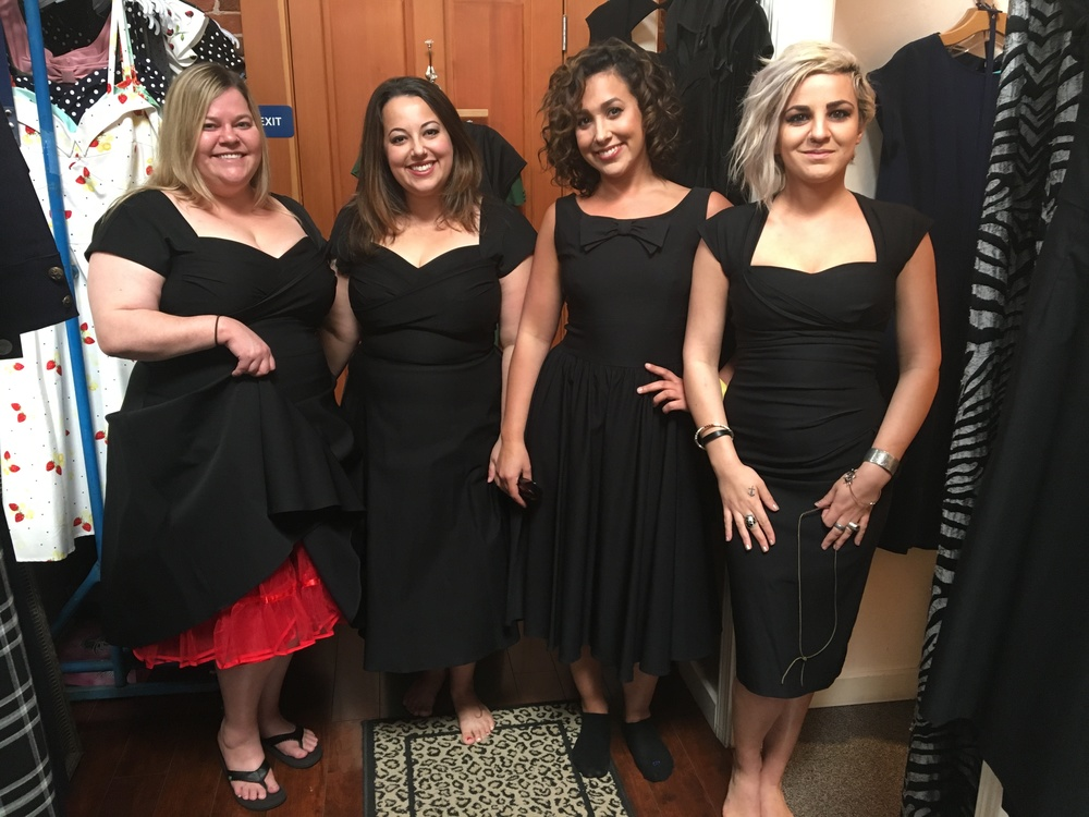 4 of 6 of my Bridesmaids
