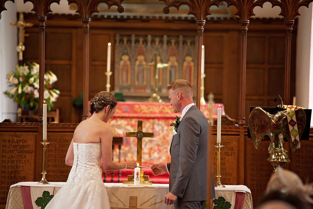 Long lenses needed here as the church was St. Mary's Church, Greasley they allow zero wedding photography from the front of the church and confine wedding photographers to a small spot at the back during the ceremony. We still managed to get some good stuff on the zoom lenses.