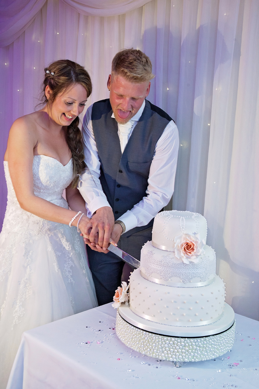 It's not a wedding without cake