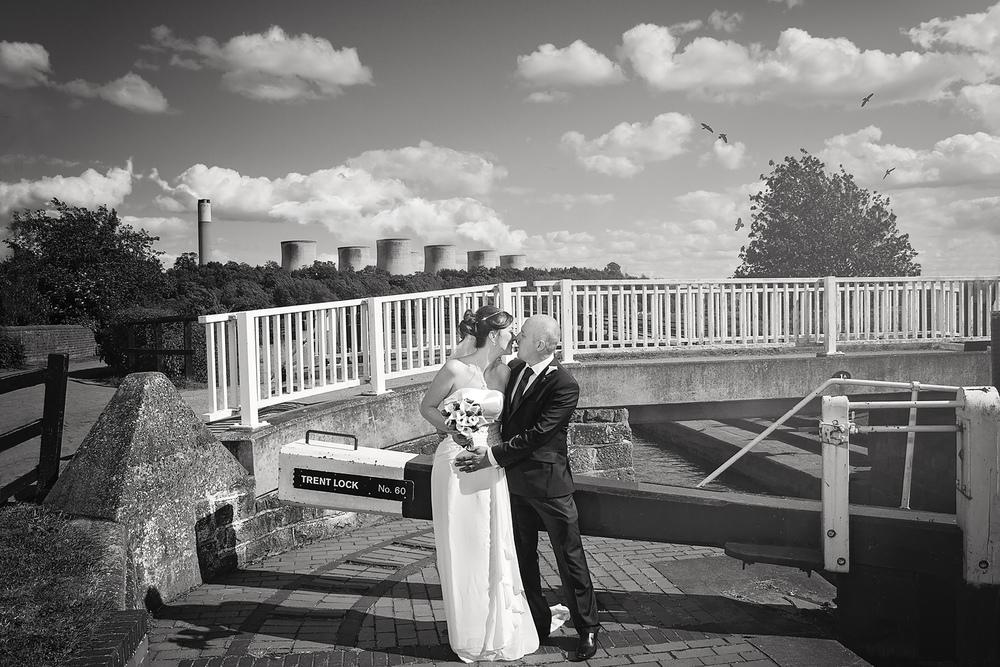 Trent lock wedding Nottingham