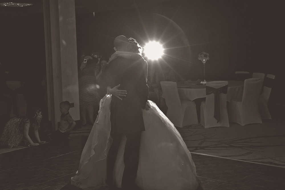 We tend to shoot first dances in two different styles, Gemma lights the venue and b&g I tend to go for mood and texture with my technique to give the client the best of both worlds.