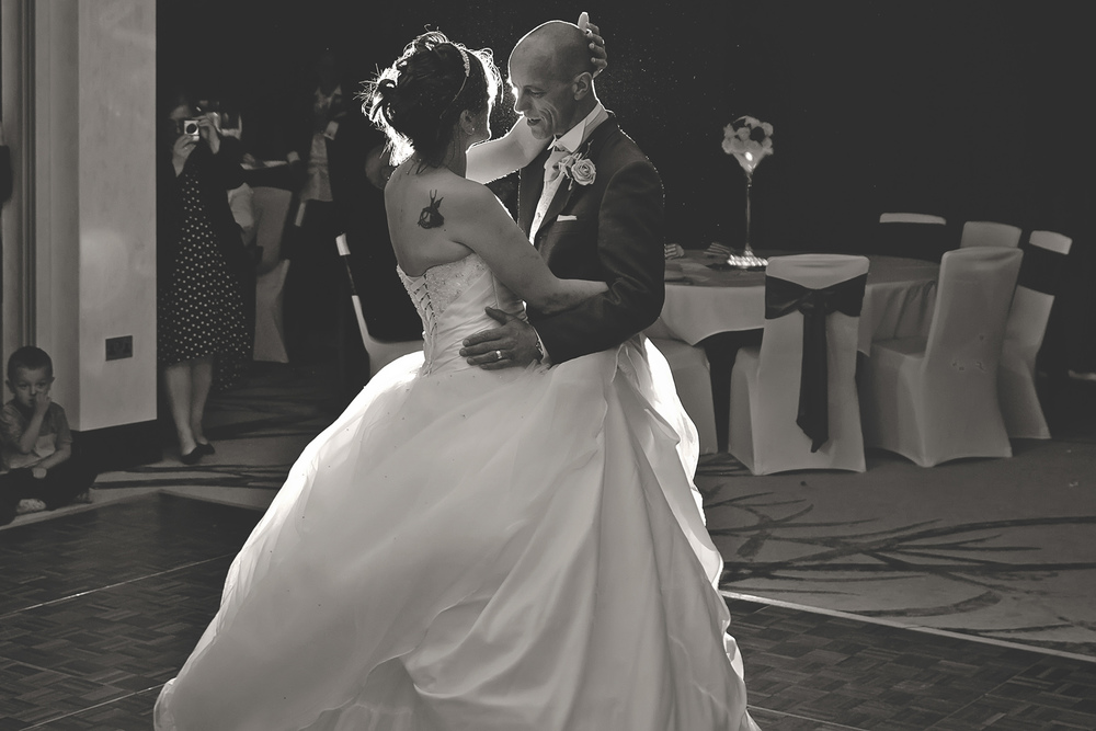 The First Dance as Man and Wife