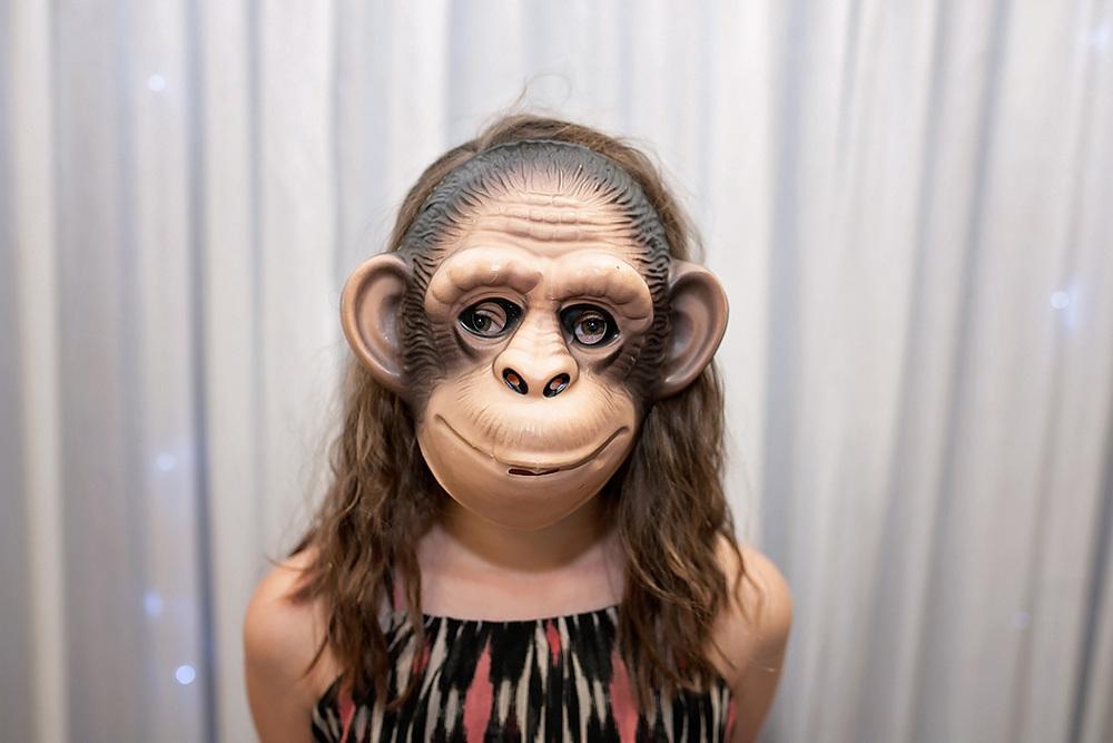 Cheeky monkey photo booth