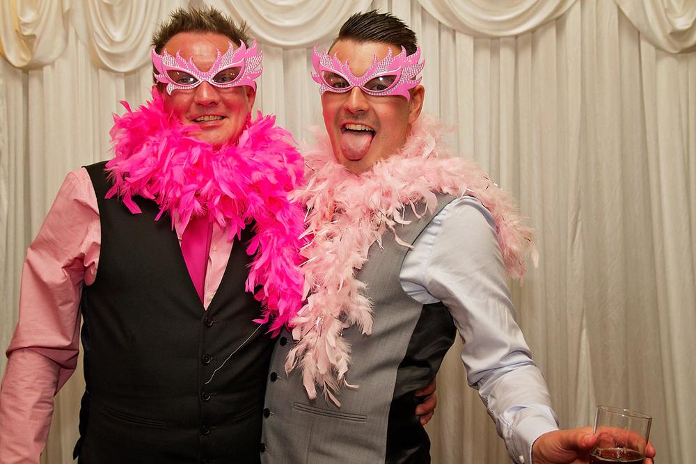 Groom wedding photo booth nottingham