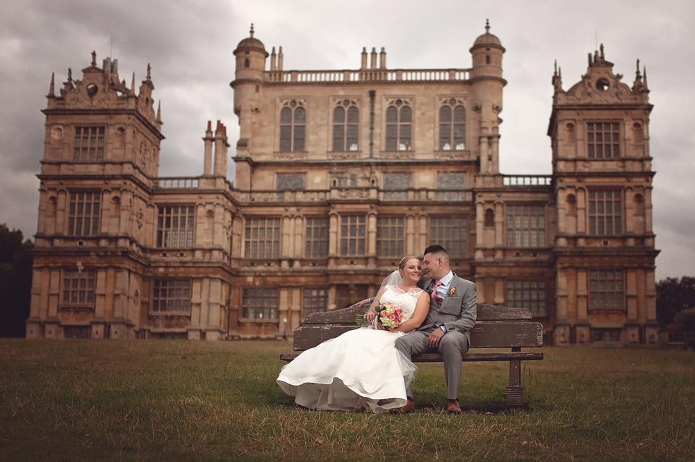 Wollaton hall deer park wedding photography