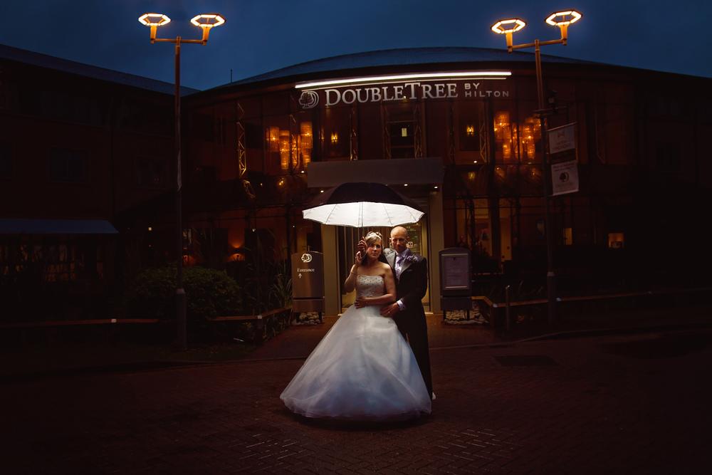 Doubletree Hilton hotel wedding Nottingham