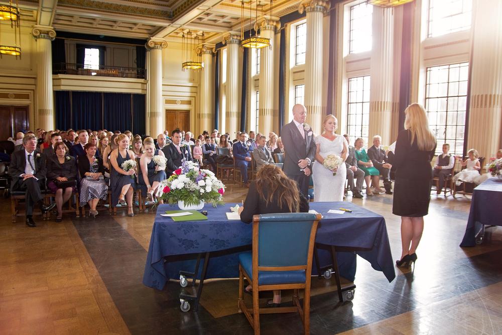 Nottingham council house wedding photography