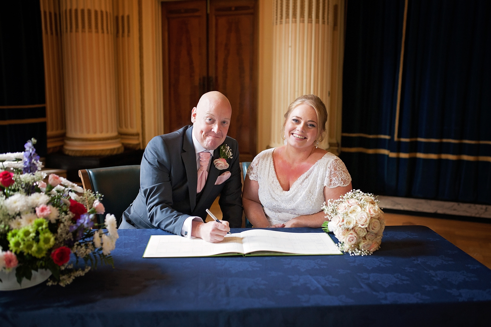 Nottingham city center wedding photographer