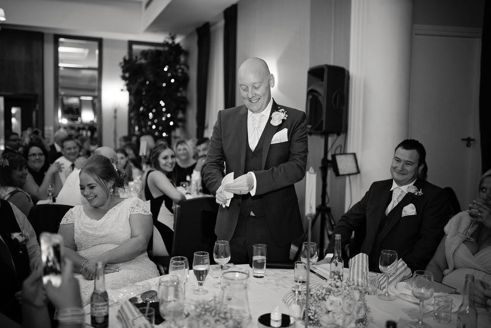 Mercure hotel wedding photography nottingham