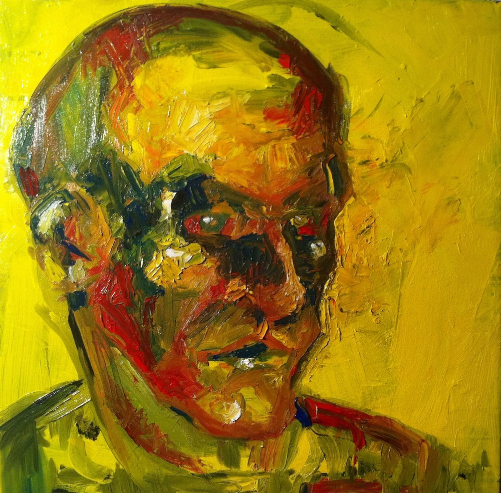 "Oil on canvas, 18""x 18"", 2012"