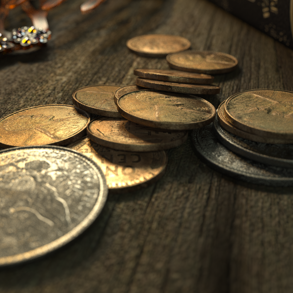Coins - Test Render