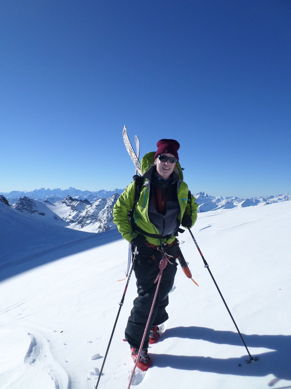 Bringing skis to you :-)