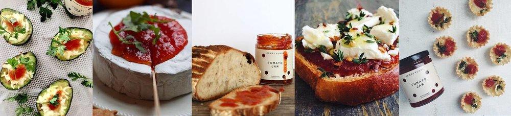 pairing for tomato jam