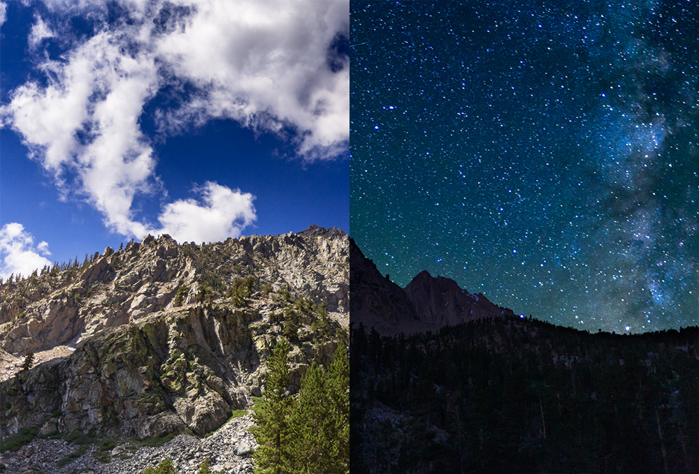 High Sierras (Onion Valley) - from 24 Hour Wallpaper  To download subscribe to our wallpaper mailing list above.