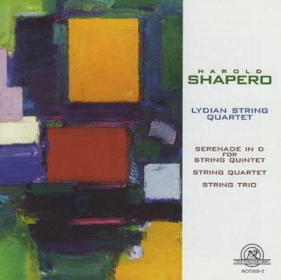 Harold Shapero: Chamber Works