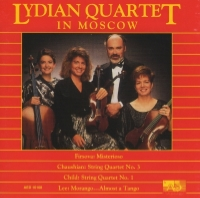 Lydian Quartet in Moscow
