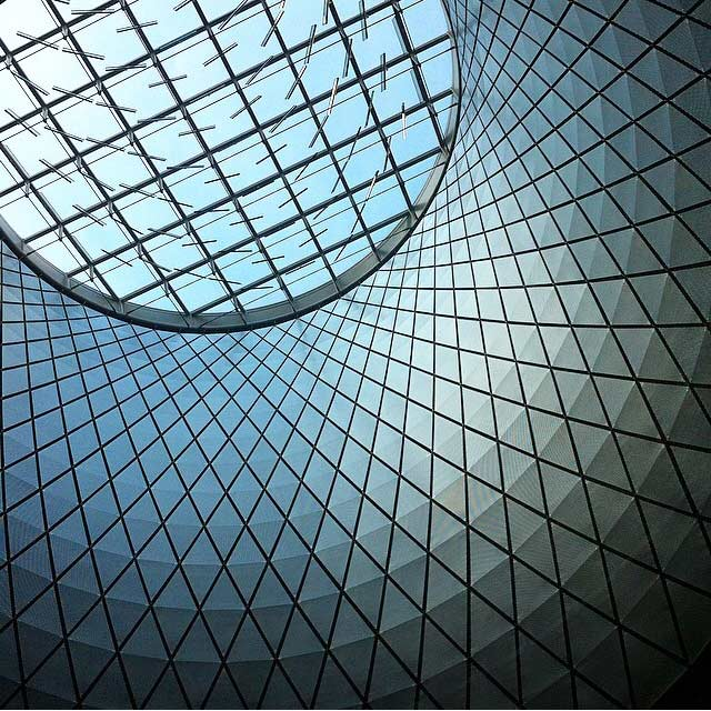 Fulton Center Transit Hub Image via @lweatherbee on Instagram
