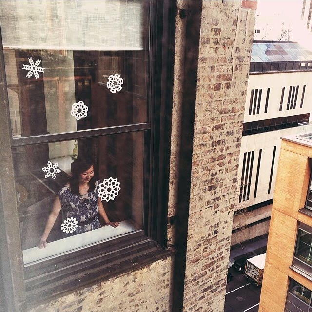 Winter in my window Image via  @jungletimer  on Instagram