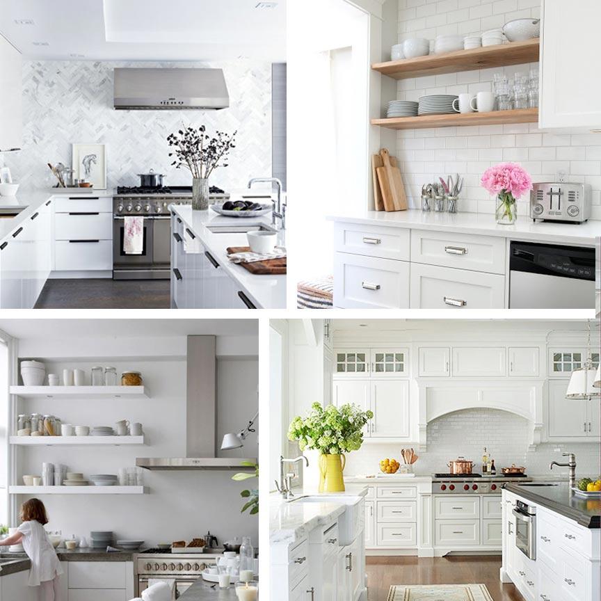 Kitchen Style White On White Ms Weatherbee