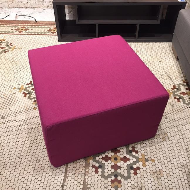 Squeezebox Ottoman
